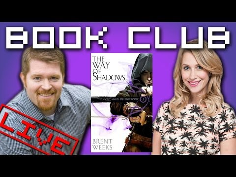 Geek Bomb Book Club With Author Brent Weeks (The Way Of Shadows)