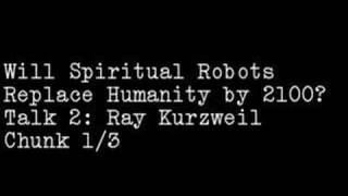 Will Spiritual Robots Replace Humanity by 2100?