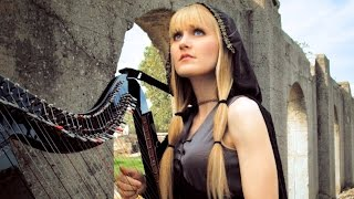 �������� ���� THE BARD'S SONG (Blind Guardian) Harp Twins - Camille and Kennerly HARP METAL ������