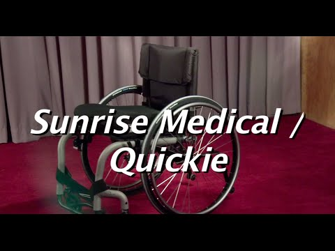 The Manual Wheelchair Comparison:  Sun Medical/Quickie
