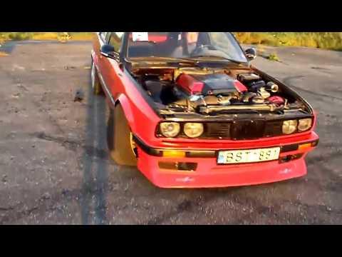 BMW E30 V8 Burnout [HD]