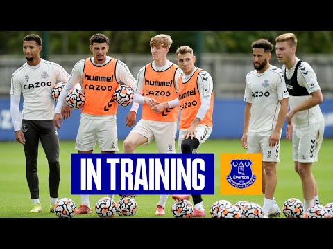 🔥 FINISHING AS BLUES PREPARE FOR HAMMERS | EVERTON IN TRAINING