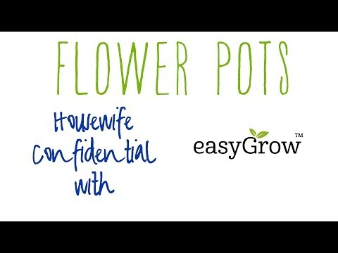 Project Garden Planting Flower Pots with easyGrow