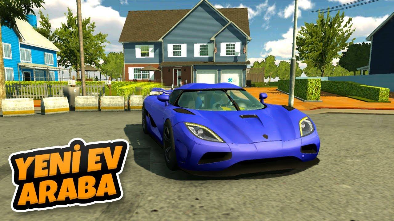 429 Km Hıza Ulaşan Yeni Arabamız ve Lüks Villamız - Car Parking Multiplayer
