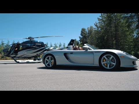 THE SH!T RICH PEOPLE DO! Helicopter and Supercar Stunts