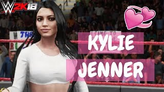 Kylie Jenner on WWE2K18 | WavyFries