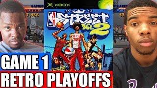 NBA Retro Playoffs Game 1 - EPIC ROMO?? | NBA Street Vol. 2 (Xbox)