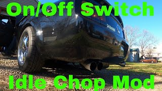 Creating An On-Off Switch For The Idle Chop Mod - 2008 Ford mustang 4.0 V6