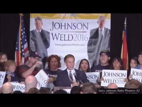 Gary Johnson's Complete Campaign Speech at His Campaign Rally in Phoenix, Arizona - 10-01-2016 (HD)