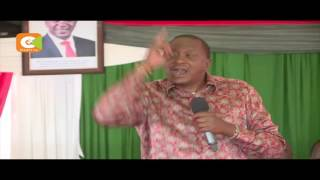 Rais Kenyatta na Naibu wake bado wapo Kisii