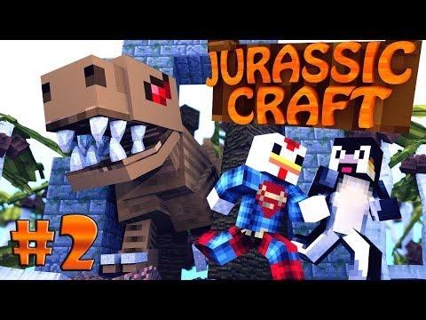 Minecraft | Jurassic Craft - Dinosaurs Ep 2