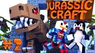 "Minecraft | Jurassic Craft - Dinosaurs Ep 2 ""NEW JURASSIC PARK"""