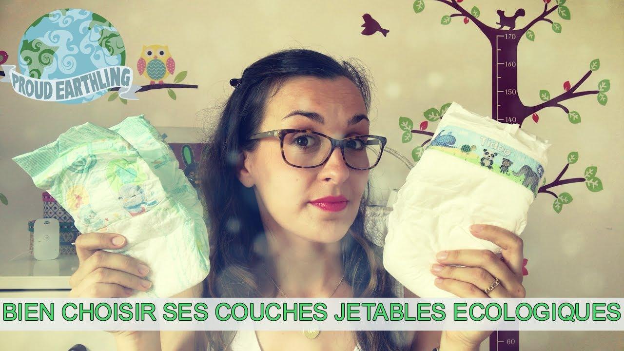 Bien choisir ses couches jetables cologiques youtube - Comparatif couches jetables ecologiques ...