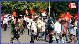 Left Protest Against Mamata Government Turns Violent In Kolkata