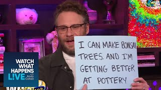 Seth Rogen's Hidden Talent | WWHL