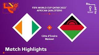 Кот-д'Ивуар  2-1  Малави видео