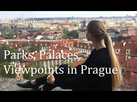 Parks, Palaces, Viewpoints in Prague Travel VLOG Pt.2