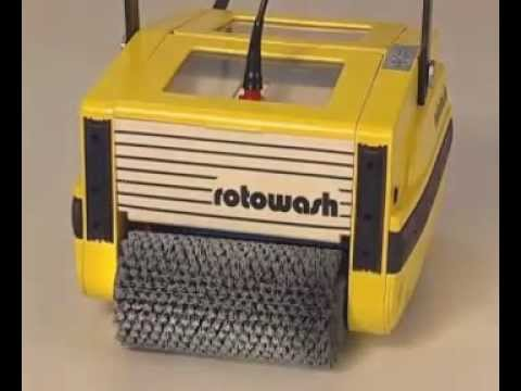Rotowash Domestic Floor Cleaning Machine Youtube