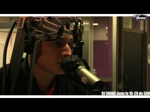 DJ SNAKE dans le 16-20 de Sam sur Vitamine