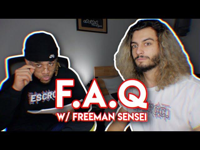 TOUT CE QUE VOUS VOULEZ SAVOIR SUR MOI⎢F.A.Q feat. @Freeman Sensei