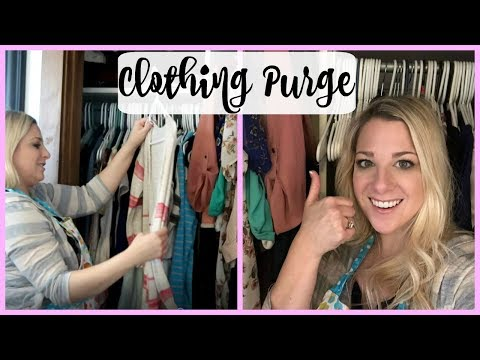 Purging Clothes | Motivational Monday
