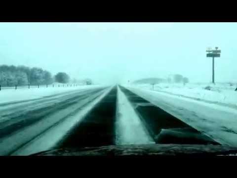 Traveling in snowing day  - Cedar Rapids - Iowa