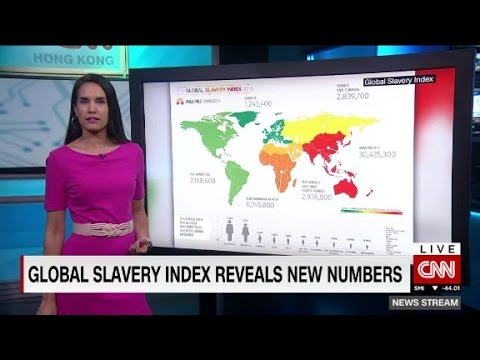 New study says global slavery up 30%