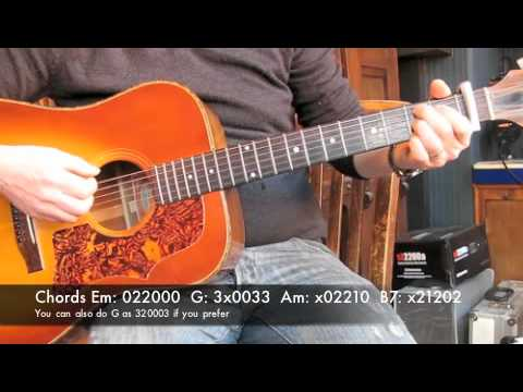 Grade 8 - Ed Sheeran - Guitar Lesson - Easy - YouTube
