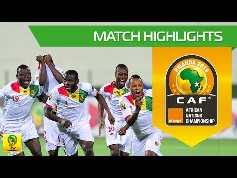 Zambia vs Guinea (QF) | Orange African Nations Championship, Rwanda 2016