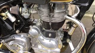 2009 ROYAL ENFIELD BULLET 350 / BROWN MOTORCYCLE COMPANY / ロイヤルエンフィールド