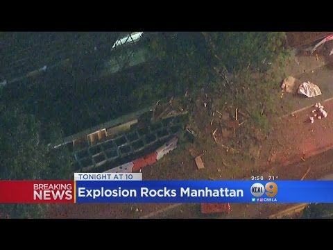 At Least 29 Injured As Explosion Rocks New York City