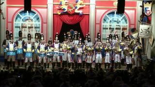 Moderner Musikzug der Füsilier-Garde - Trommelsolo und Mainzer Narrhallamarsch 2015