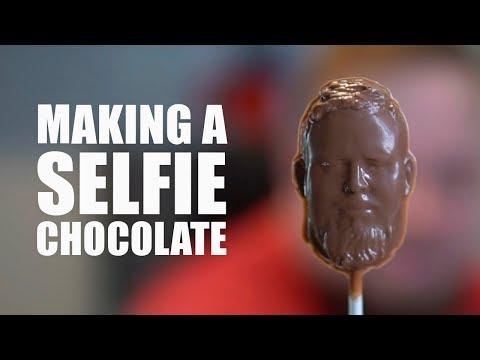 Making a Selfie Chocolate - Fast Cut