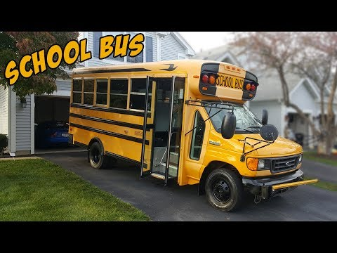 I Bought a School Bus!