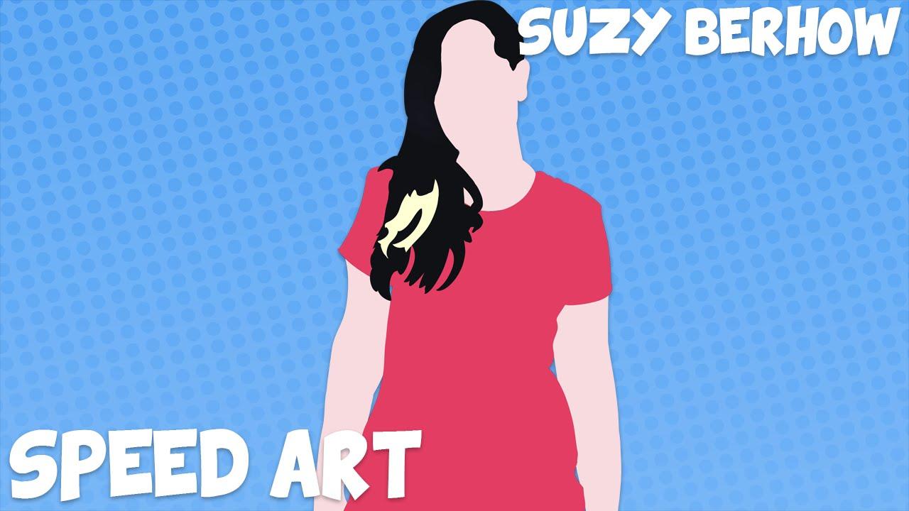 Speed art sylphinford minimalist vector art youtube - Suzy Berhow Mortem3r Kittykatgaming Minimalist Speed Art Commanderchris