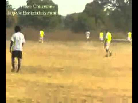 Nkwolo Chinedu Dribbles player and crosses the Ball Osfa Football Academy Nigeria Africa.mp4