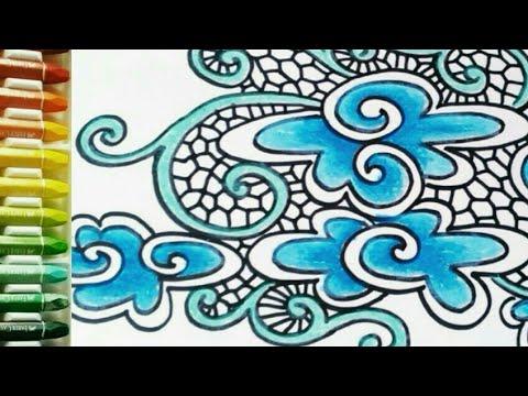 Diy Batik Style Decoupage Napkins Botanicals Youtube