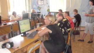 Преподаватель на курсах повышения квалификации и во время обучения учителей РФ