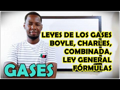 Download LEYES DE LOS GASES: Boyle, Charles, Ley Combinada y Ley General