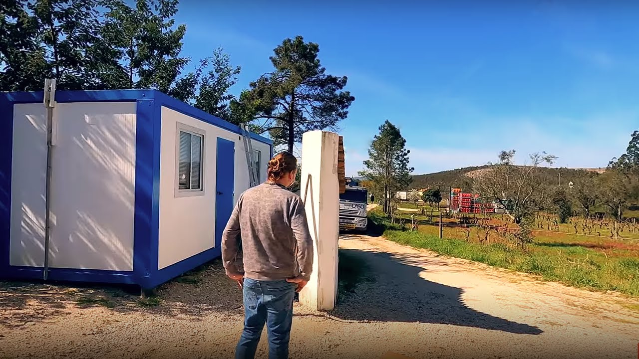 The Beginning | MOVING OUR TINY HOME To Our Land in Portugal | Ep. 03