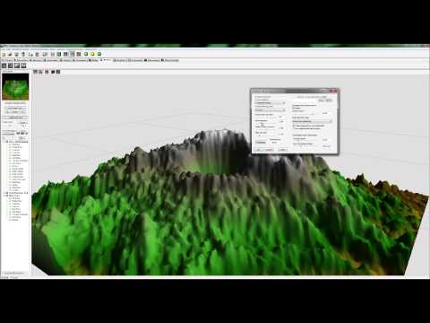 Vue tutorial: Create a volcanic scene (Sampler)