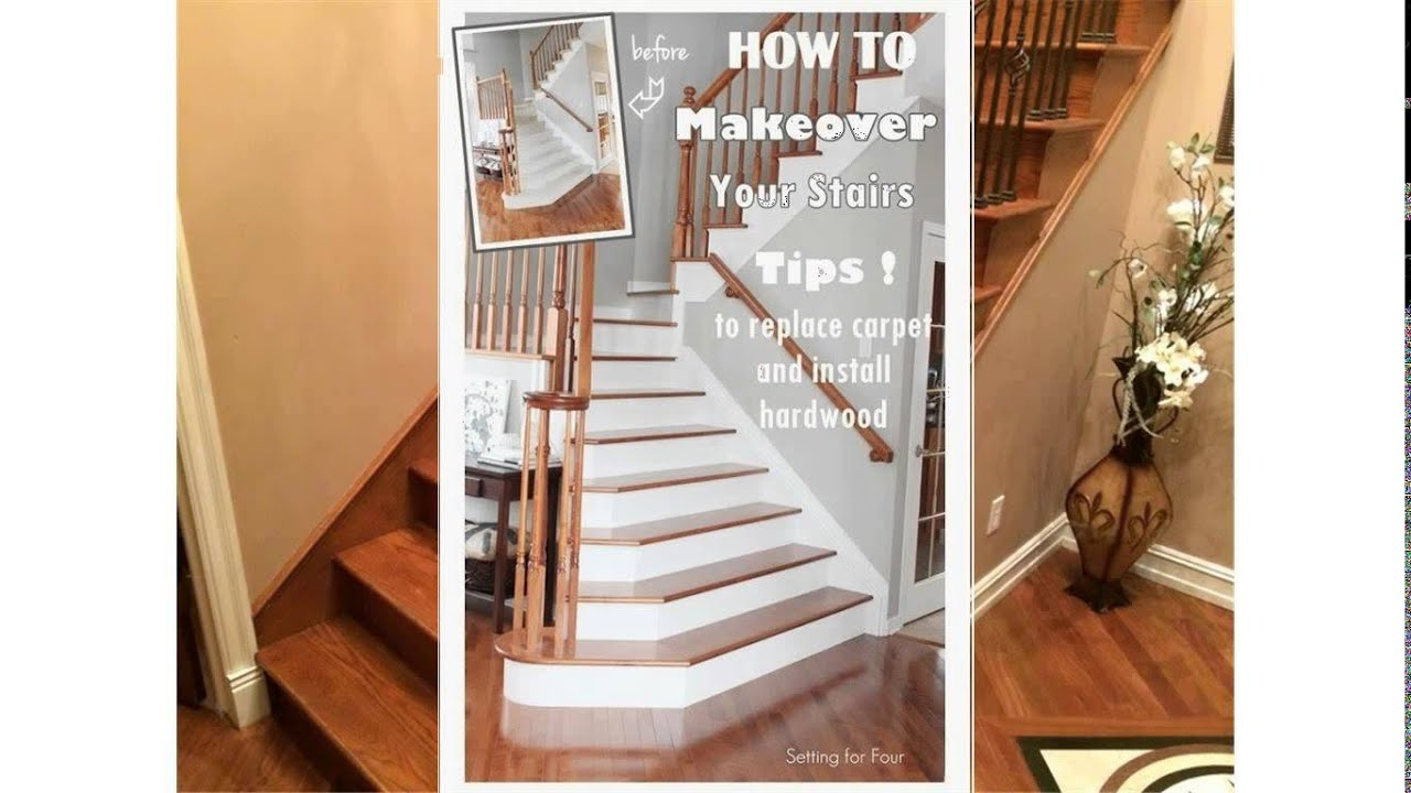 Delightful Hardwood Stairs Cost   YouTube
