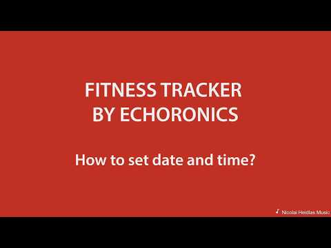 Tutorial Video | Echoronics Dash by Mevo - How To Set Date and time?