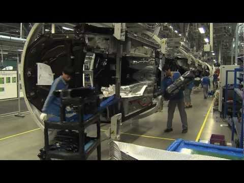 BMW Brilliance Plant Tiexi Vehicle Assembly