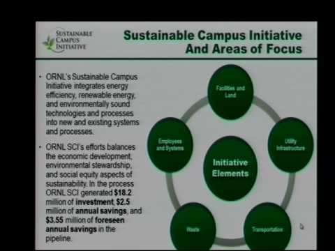 ORNL Sustainable Campus Initiative