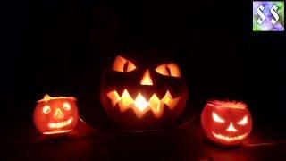 как сделать тыкву подсвечник на Хелоуин МАСТРЕР-КЛАСС Подготовка к Хелоуину