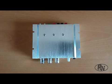 LVPIN 12V 200W Mini Hi Fi Stereo Amplifier MP3 Unboxing & Review - أنبوكسينغ ومراجعة