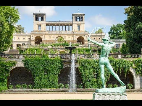 Palace Orangerie Orangerieschloss Orangerieterrassen Park Sanssouci UNESCO Weltkulturerbe