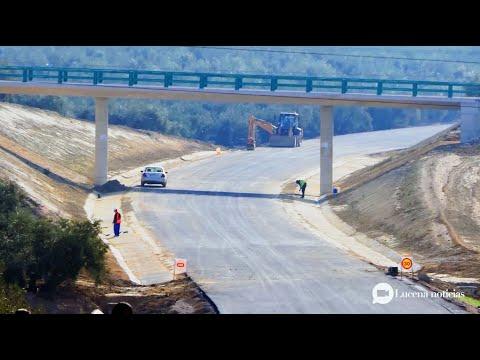 VÍDEO: Las obras de la variante de Lucena, casi terminadas, estarán en funcionamiento en dos meses