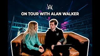 """ Singing on Tour with Alan Walker "" part 2"